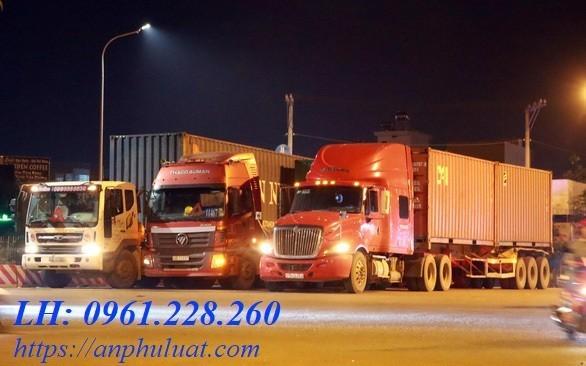 thủ tục thành lập công ty vận tải