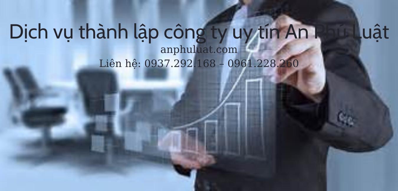 Dịch vụ thành lập công ty uy tín An Phú Luật
